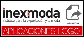 Aplicación Logo Inexmoda